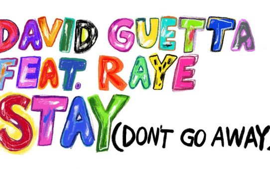 David Guetta feat Raye - Stay (Don't Go Away)